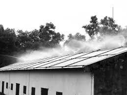 Dịch vụ phun nước mái tôn