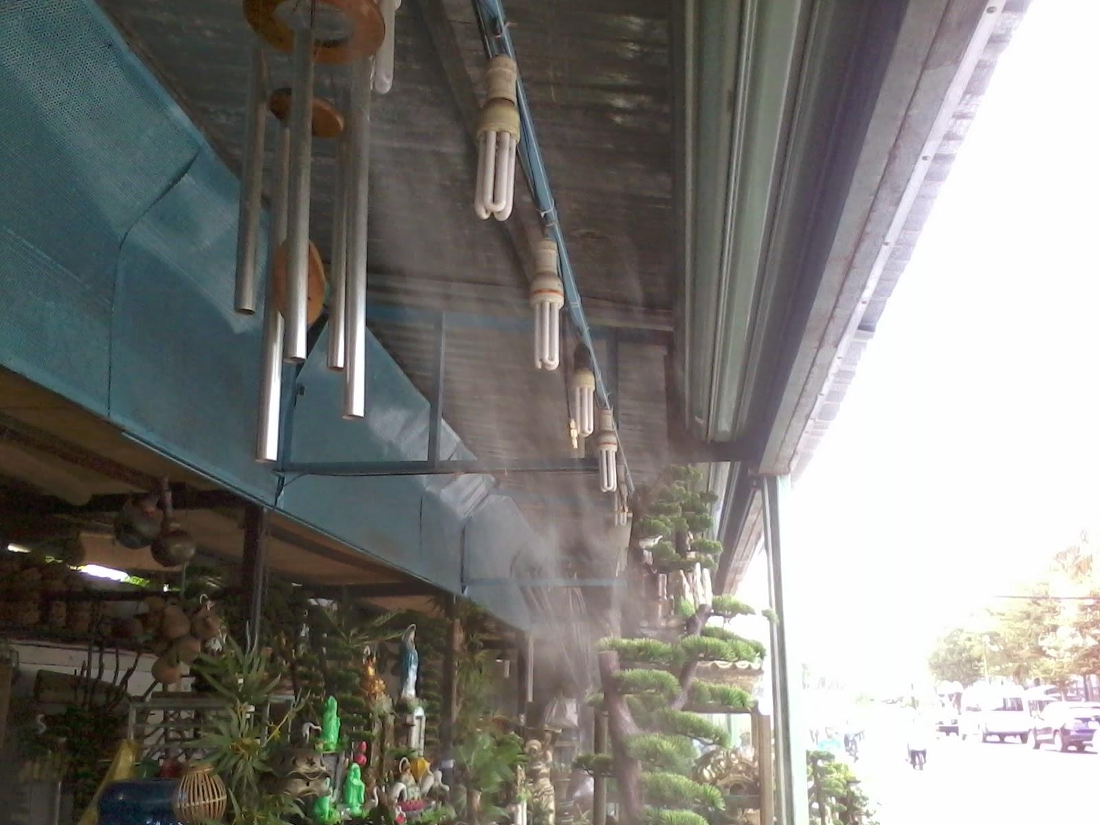 lắp đặt máy phun sương quận 12