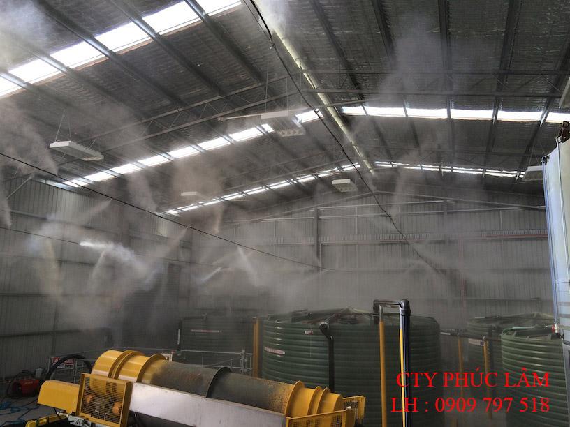 Máy Phun Sương Khử Mùi Công nghiệp