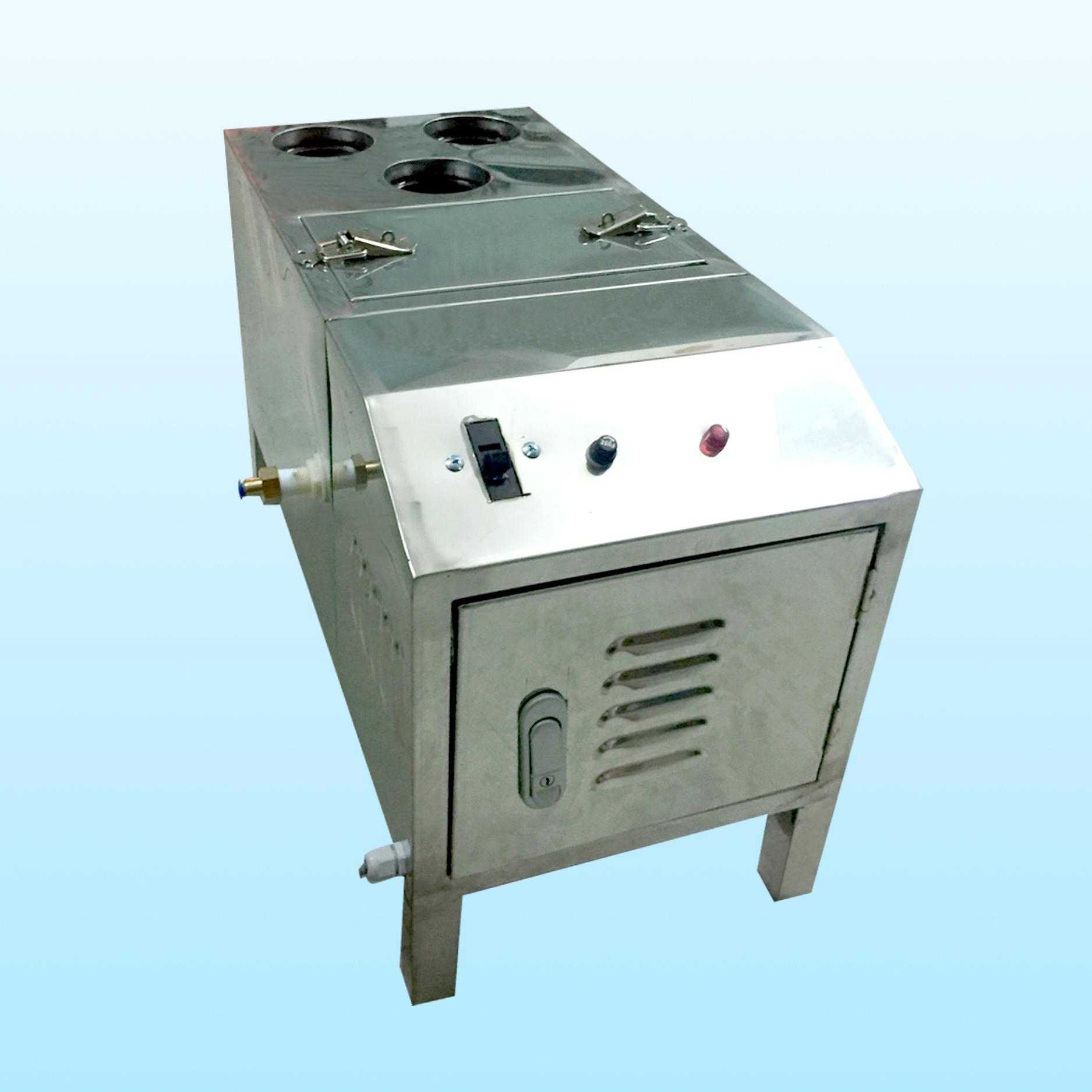 máy tạo ẩm vi sóng thùng inox 3 vỉ